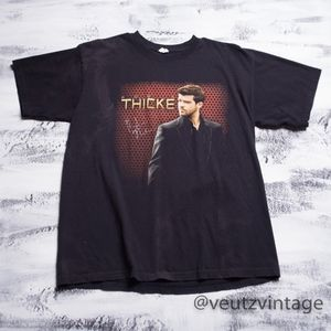 Robin Thicke Autographed Band T-Shirt Men's L/XL
